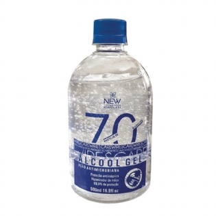 Álcool em Gel 70% 500ml New WIrescare 15874